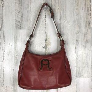 Vintage 70s Etienne Aigner handmade leather purse